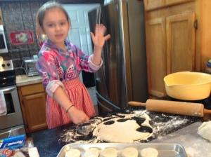 Addi_making_biscuits